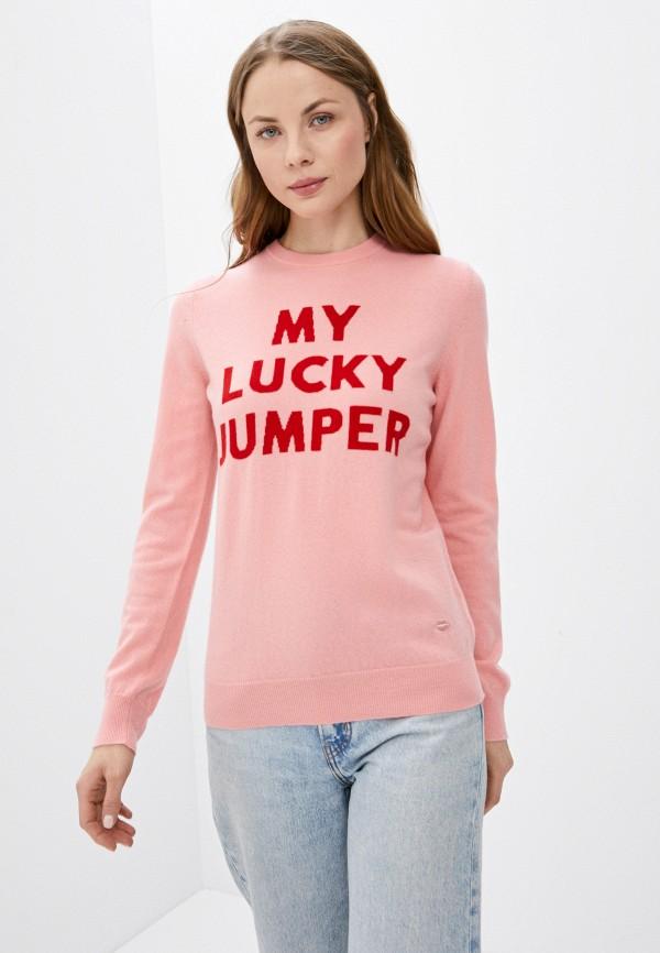 женский джемпер markus lupfer, розовый