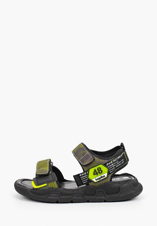 сандалии kapika для мальчика, хаки