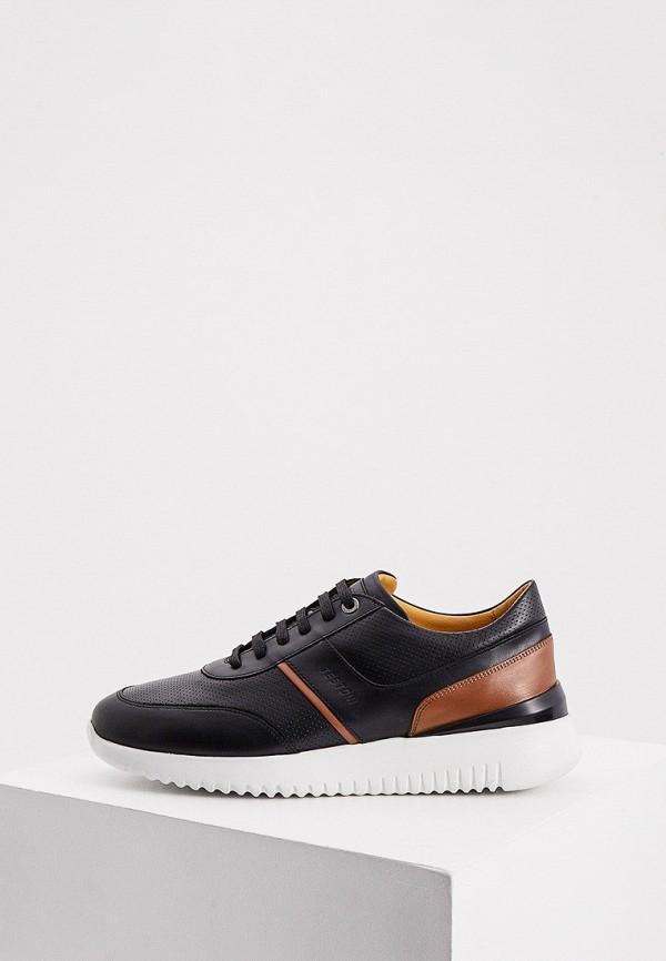 мужские кроссовки a.testoni, черные