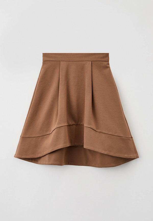 юбка fridaymonday для девочки, коричневая