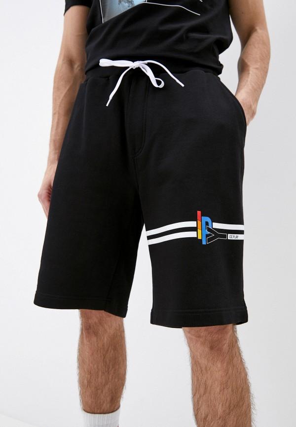 мужские спортивные шорты ice play, черные