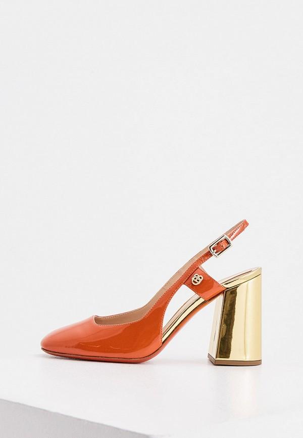 женские туфли baldinini, оранжевые