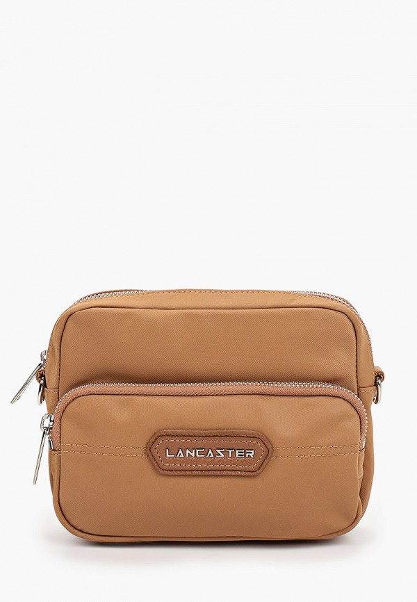 женская сумка lancaster, коричневая