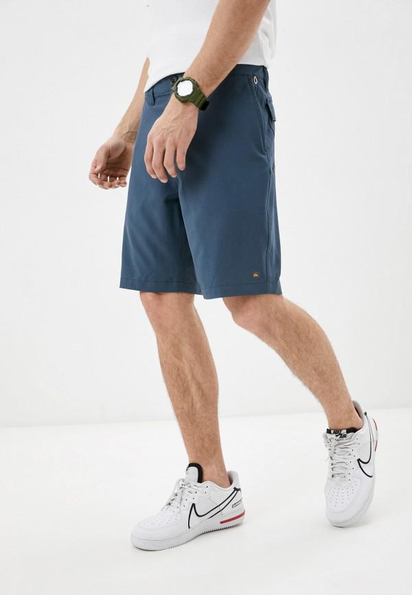 мужские шорты quiksilver, синие
