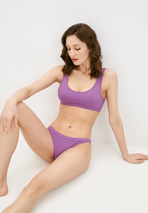 женский лиф quiksilver, фиолетовый