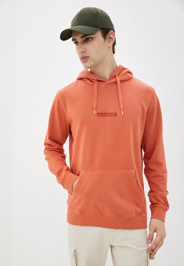 мужские худи quiksilver, оранжевые