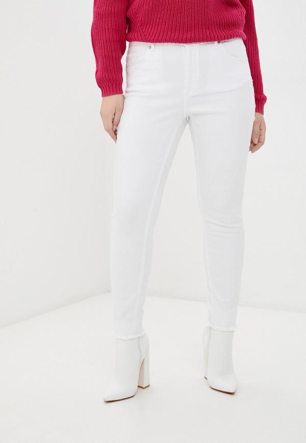 женские джинсы only carmakoma, белые