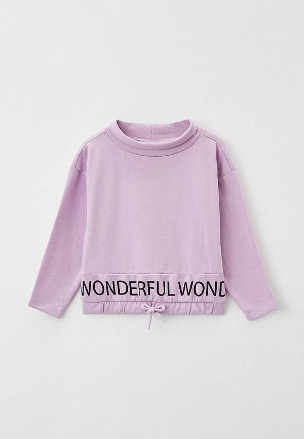 худи kids only для девочки, фиолетовые
