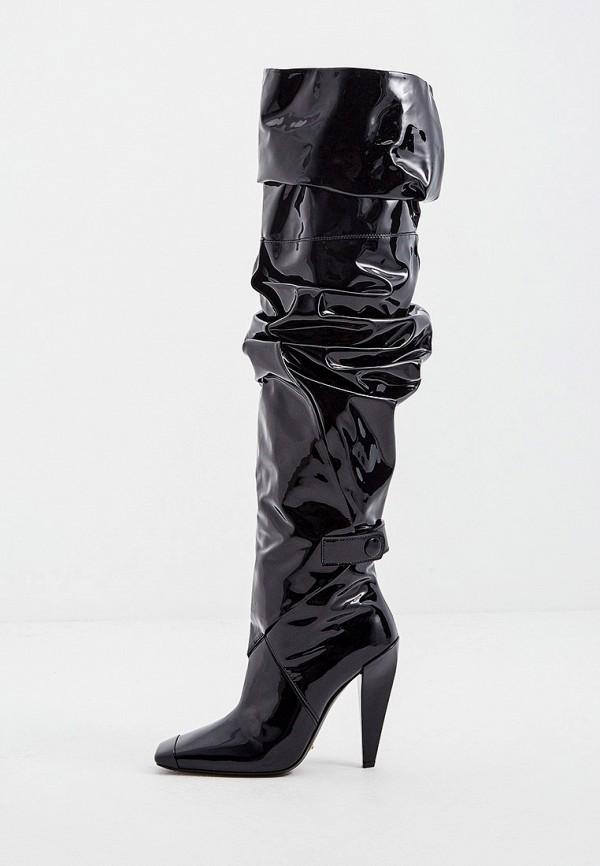 женские ботфорты tom ford, черные