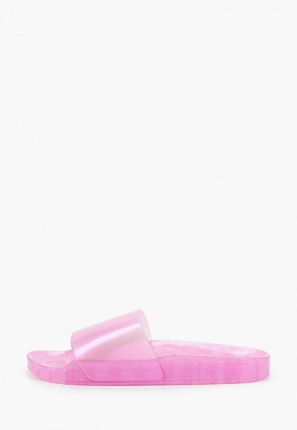 женские сланцы kazar studio, розовые