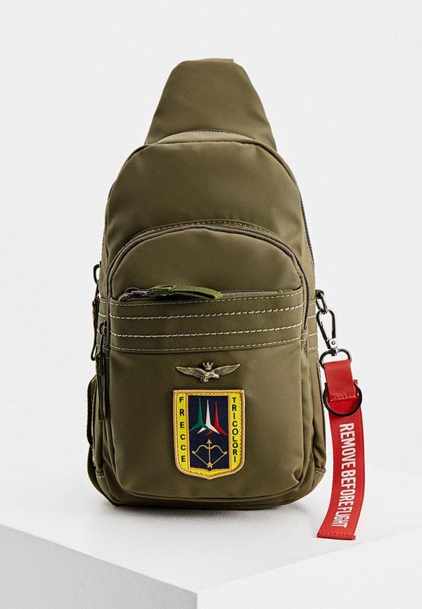 мужской рюкзак aeronautica militare, хаки