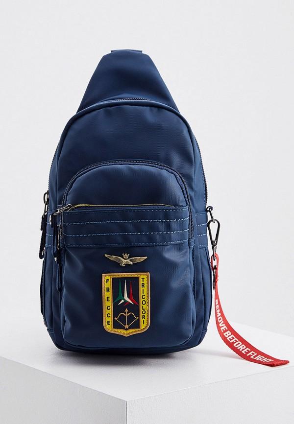 мужской рюкзак aeronautica militare, синий