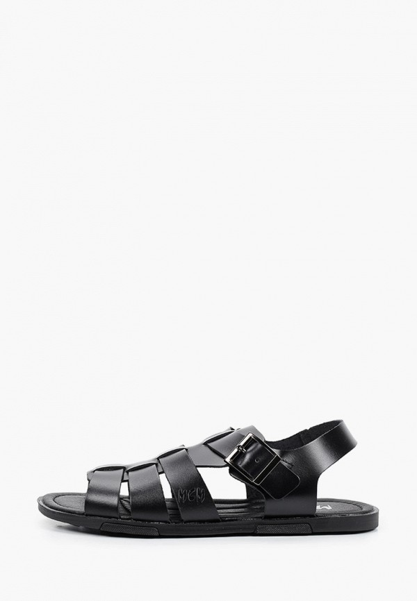 мужские сандалии mcm, черные