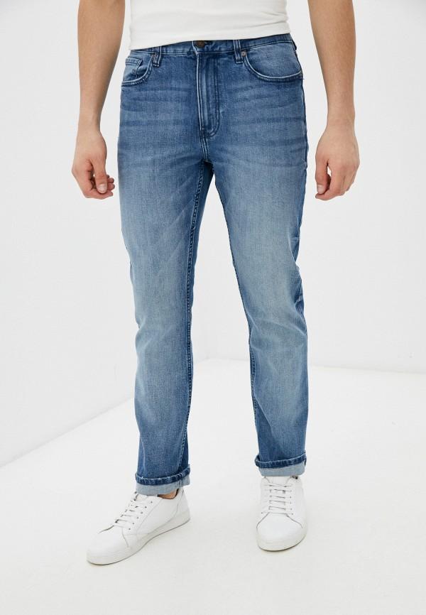 мужские зауженные джинсы dc shoes, голубые