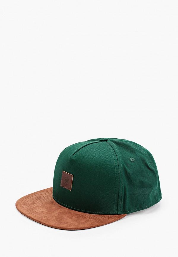 мужская бейсболка dc shoes, зеленая