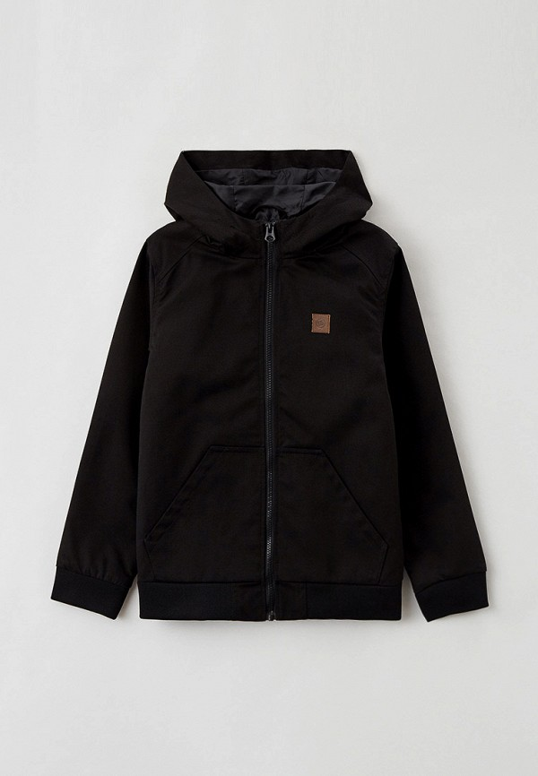 легкие куртка dc shoes для мальчика, черная