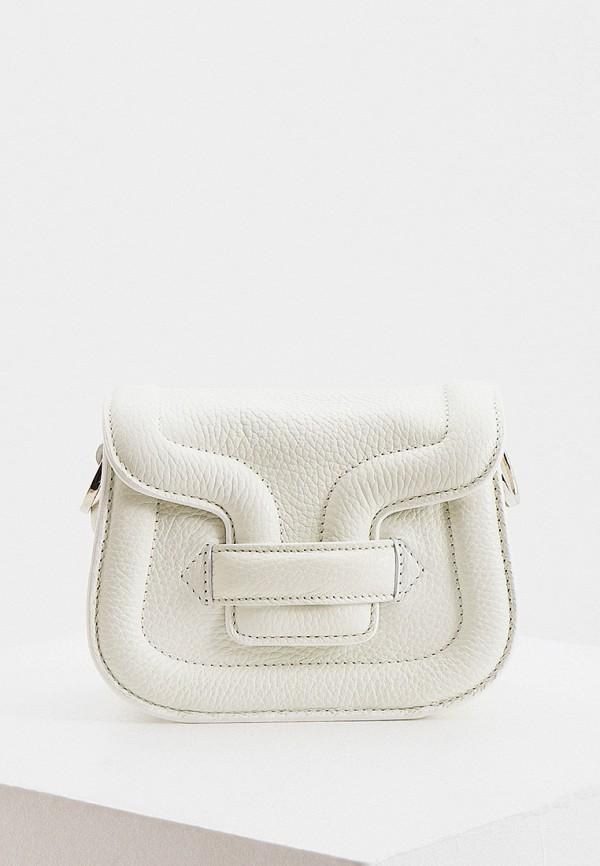 женская сумка с ручками pierre hardy, белая