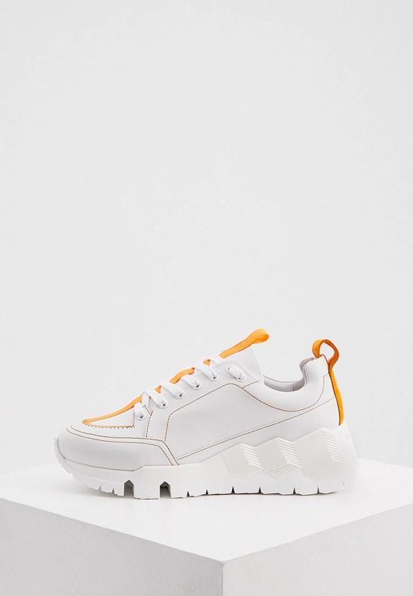 женские низкие кроссовки pierre hardy, белые