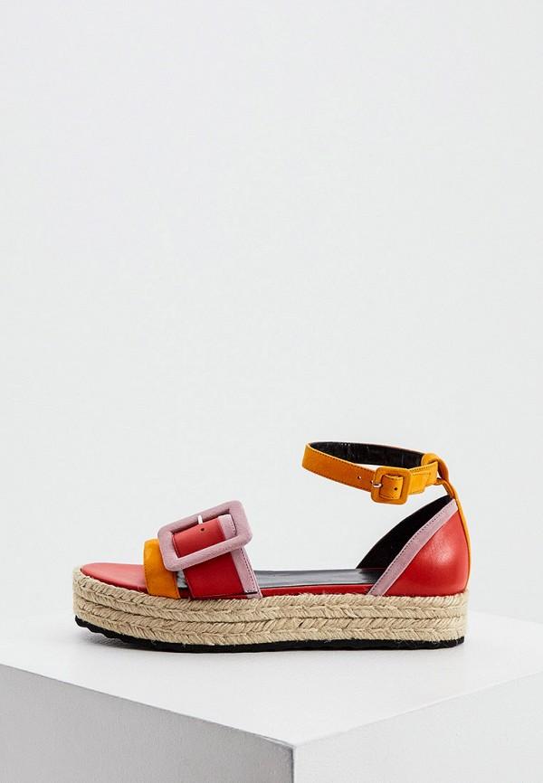 женские сандалии pierre hardy, разноцветные