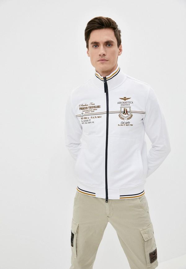 мужская олимпийка aeronautica militare, белая