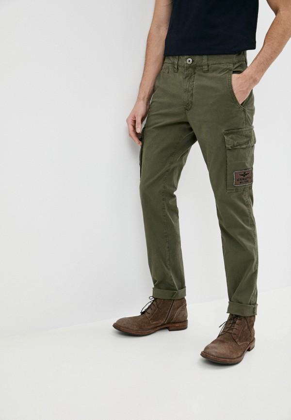 мужские повседневные брюки aeronautica militare, хаки