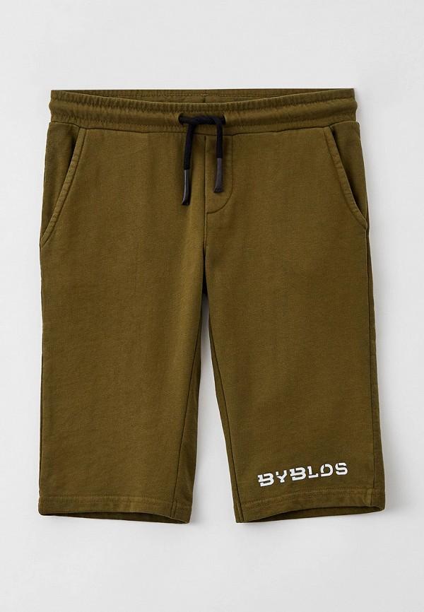 спортивные шорты byblos для мальчика, хаки