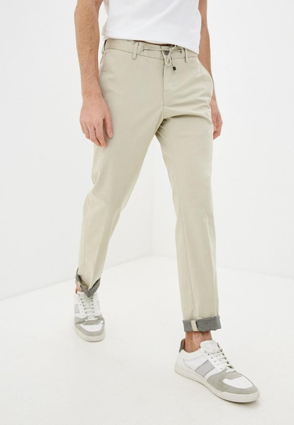 мужские повседневные брюки daniel hechter, бежевые