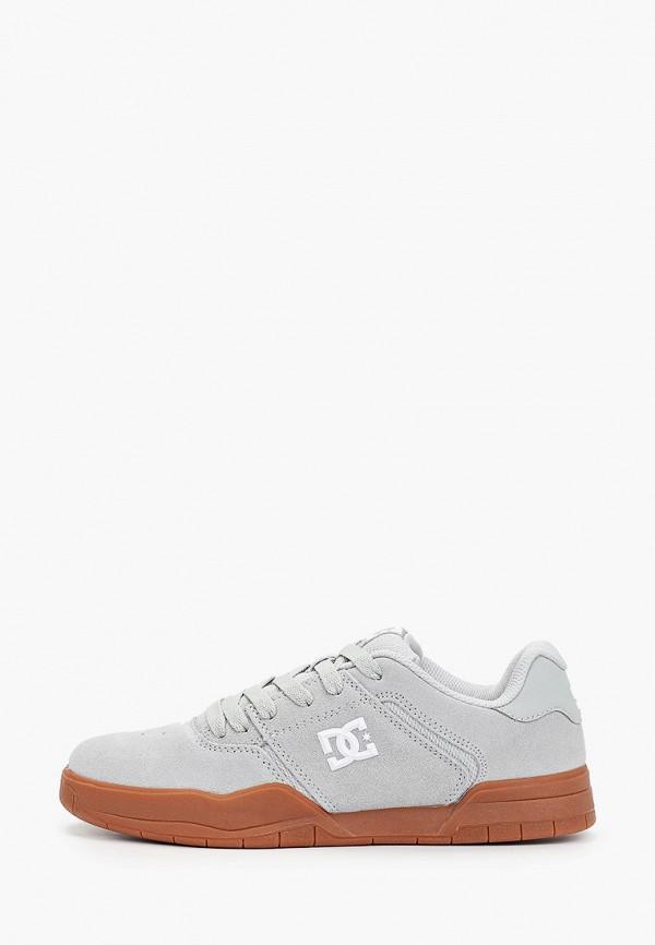 мужские кеды dc shoes, голубые