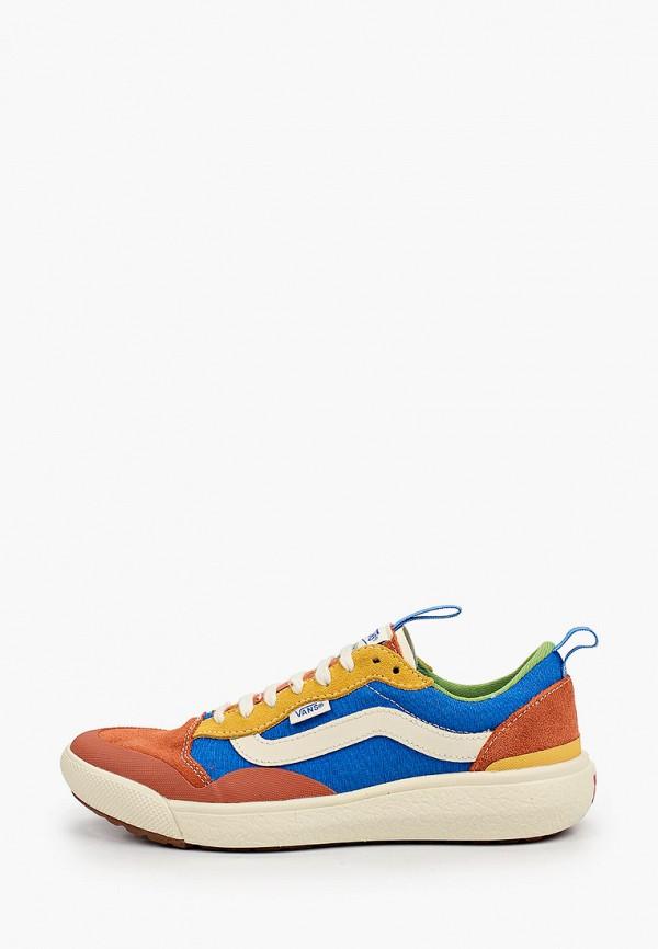 женские низкие кроссовки vans, разноцветные