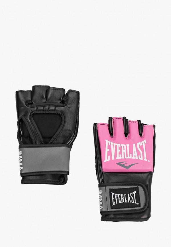 женские перчатки everlast, розовые