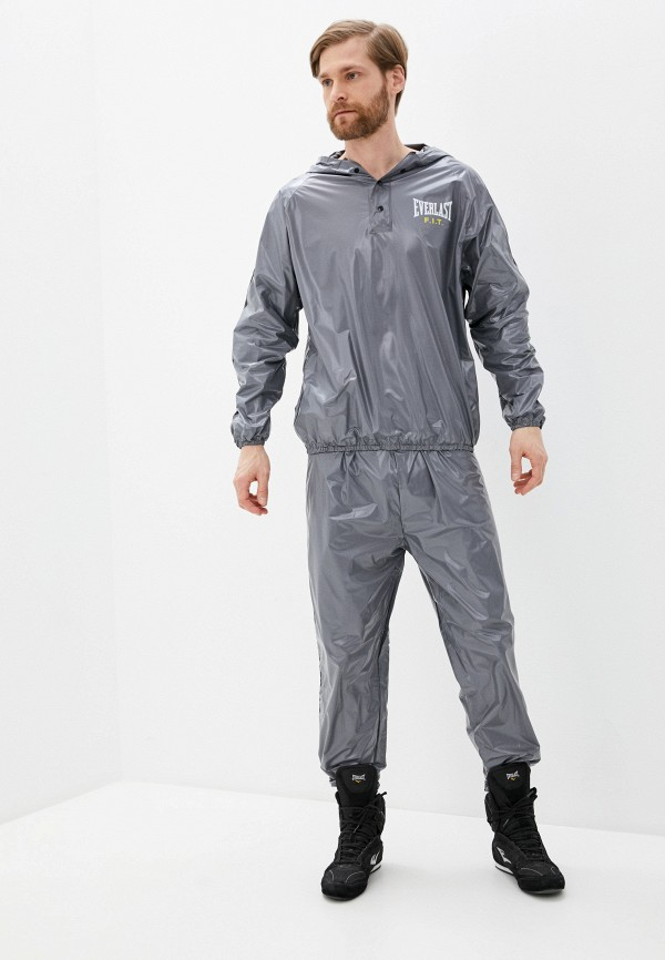 мужской спортивный костюм everlast, серый