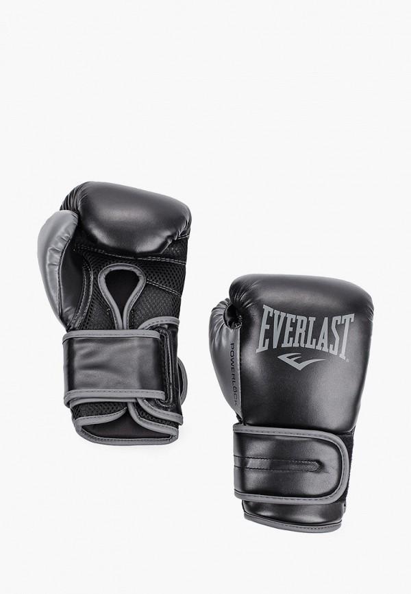 Перчатки боксерские Everlast черного цвета