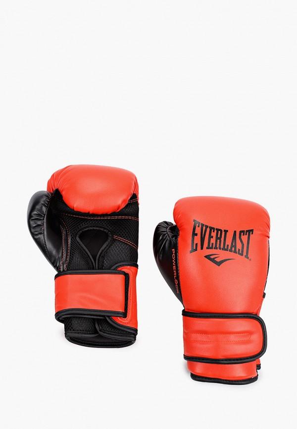 женские перчатки everlast, красные
