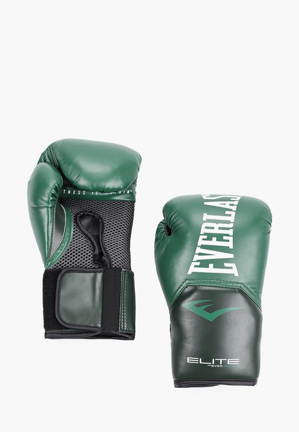 Перчатки боксерские Everlast цвета хаки