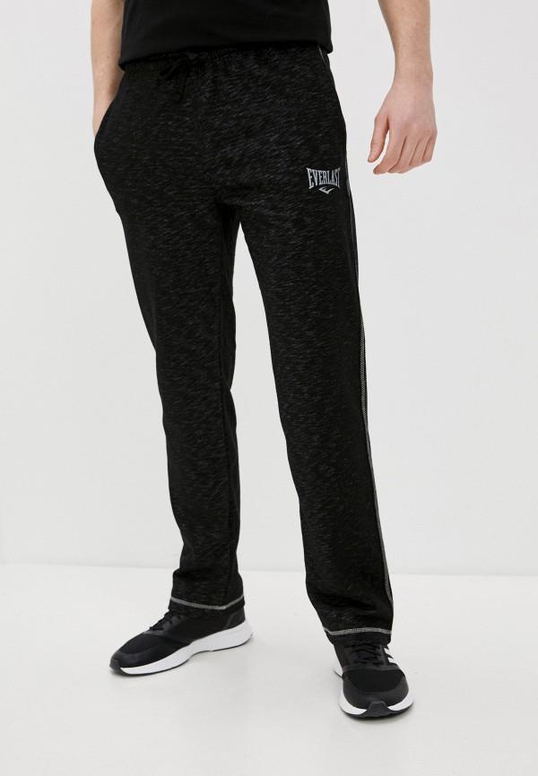 мужские спортивные брюки everlast, черные