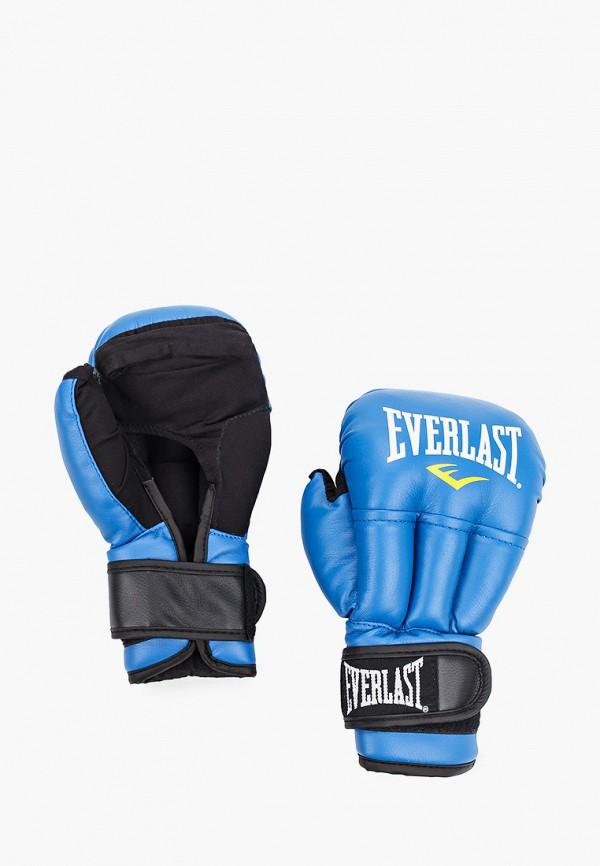 женские перчатки everlast, голубые