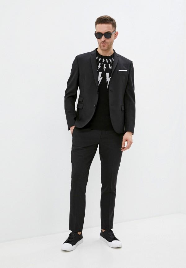 мужской классические костюм neil barrett, черный