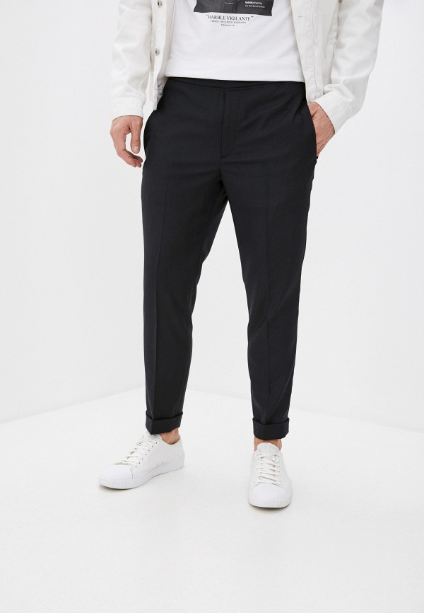 мужские повседневные брюки neil barrett, черные