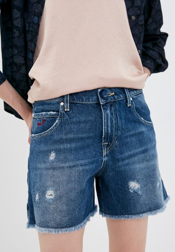 женские джинсовые шорты jacob cohen, синие