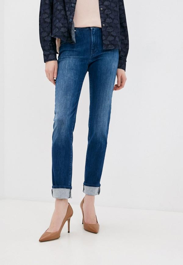 женские джинсы скинни jacob cohen, синие