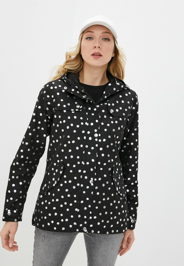 женская куртка regatta, черная