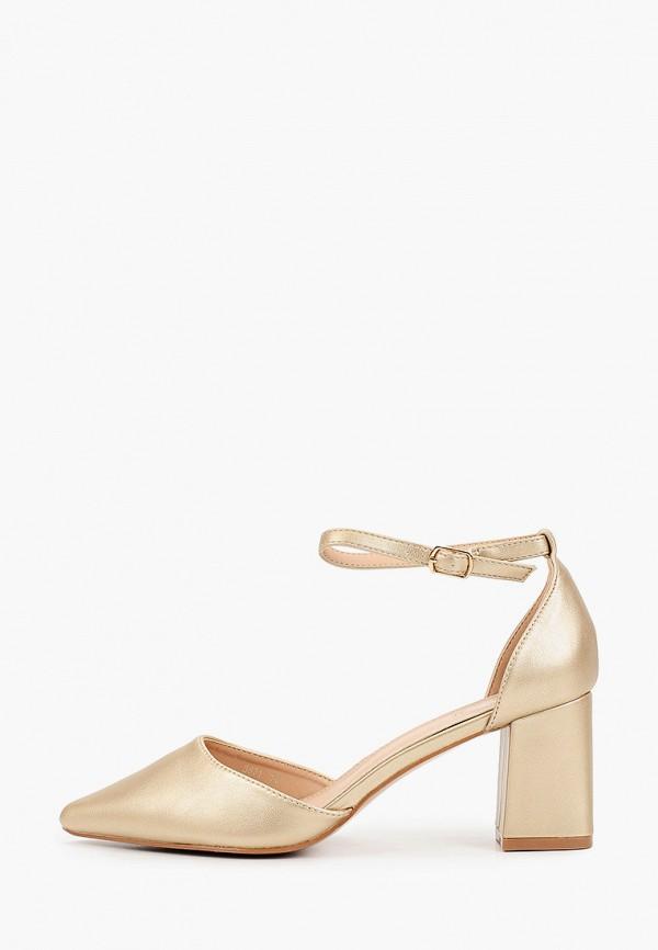 женские туфли marquiiz, золотые