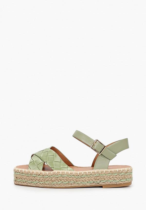 женские сандалии marquiiz, зеленые
