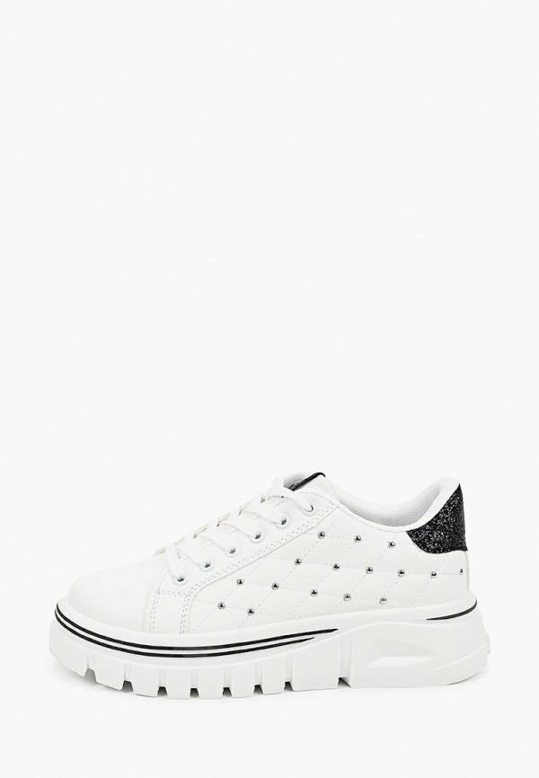 женские ботинки ideal shoes, белые