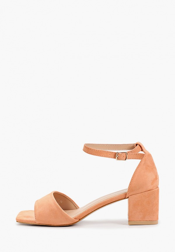 женские босоножки ideal shoes, оранжевые