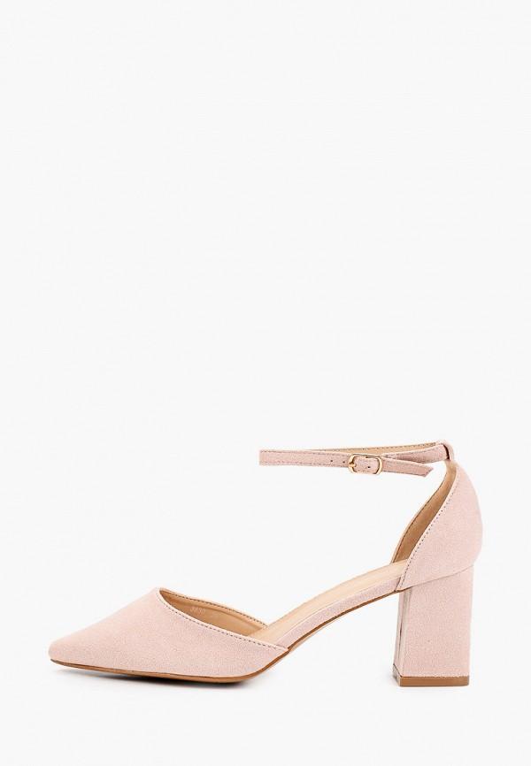 женские туфли ideal shoes, розовые