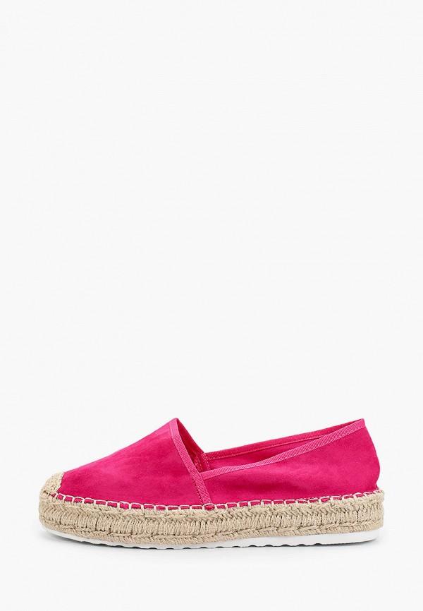 женские эспадрильи ideal shoes, розовые
