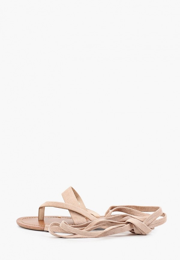 женские сандалии ideal shoes, бежевые