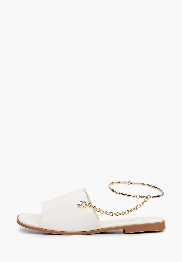 женские сандалии ideal shoes, белые