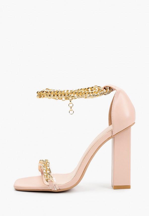 женские босоножки ideal shoes, розовые